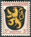 (1946) MiNr. 2 ** - Francouzská zóna  - Erb francouzských zemí