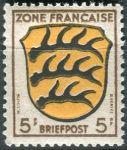 (1946) MiNr. 3 ** - Francouzská zóna  - Erb francouzských zemí