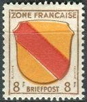 (1946) MiNr. 4 ** - Francouzská zóna  - Erb francouzských zemí
