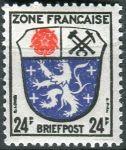 (1946) MiNr. 9 ** - Francouzská zóna - Erb francouzských zemí