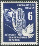(1950) MiNr. 276 ** - DDR - mír