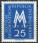 (1957) MiNr. 597 ** - DDR - Lipský podzimní veletrh