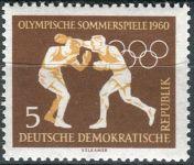(1960) MiNr. 746 ** - DDR - Olympijské letní a zimní hry, Řím a Squaw Valley