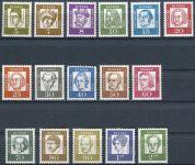 (1961) MiNr. 347 - 362y ** - Německo - Důležití Němci