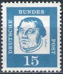 (1961) MiNr. 351y ** - Německo - Důležití Němci