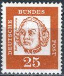 (1961) MiNr. 353y ** - Německo - Důležití Němci