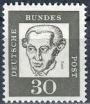 (1961) MiNr. 354y ** - Německo - Důležití Němci