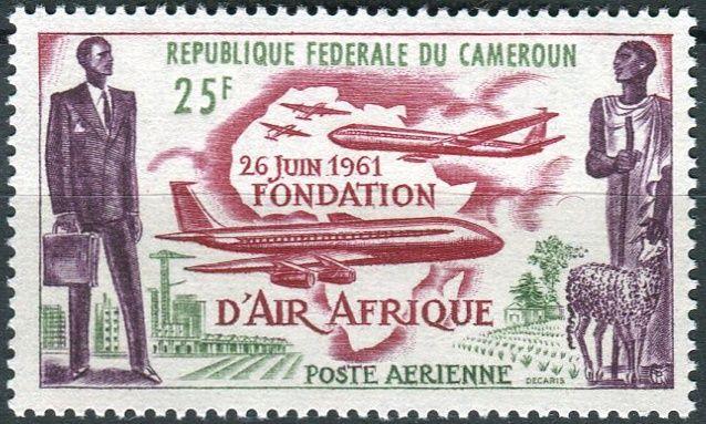(1962) MiNr. 353 ** - Kamerun - Založení letecké společnosti