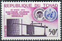 (1964) MiNr. 115 ** - ČAD - Světový den meteorologie