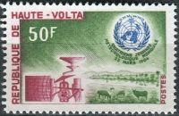 (1964) MiNr. 145 ** - Haute Volta - Obervolta - Světový den meteorologie
