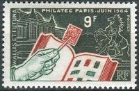 (1964) MiNr.  204 ** - Wallis a Futuna - Mezinárodní filatelistická výstava PHILATEC '64, Paříž
