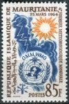 (1964) MiNr. 229 ** - Mauretanie - Světový den meteorologie