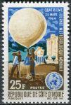 (1964) MiNr. 266 ** - Pobřeží slonoviny - Côte d'Ivoire - Den meteorologie