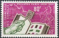 (1964) MiNr. 357 ** - Cote Fr. des Somalis - Výstava poštovních známek Philatec, Paris