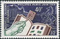 (1964) MiNr.  405 ** - Nová Kaledonie - Mezinárodní filatelistická výstava PHILATEC '64, Paříž