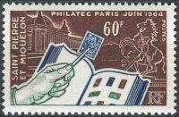 (1964) MiNr. 406 ** - Saint Pierre a Miquelon - Mezinárodní filatelistická výstava PHILATEC, Paříž
