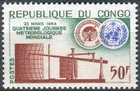 (1964) MiNr. 42 ** - Kongo-Brazzaville - Světový den meteorologie