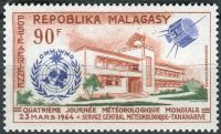 (1964) MiNr. 519 ** - Madagaskar - Světový den meteorologie