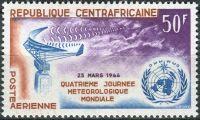 (1964) MiNr. 56 ** - Centrální Afrika - Světový den meteorologie