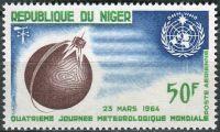 (1964) MiNr. 70 ** - Niger - Světový den meteorologie