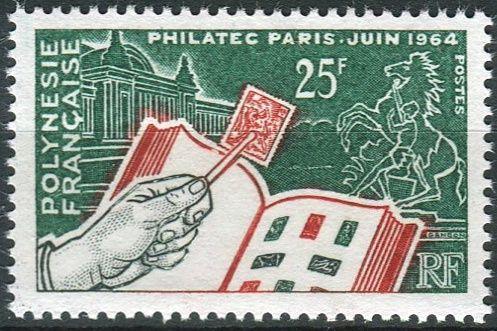 "(1964) NiNr. 32 ** - Fr. Polynesie - Výstava ""Philatec Paris"""