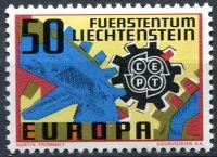 (1967) MiNr. 474 ** - Lichtenštejnsko - EUROPA CEPT
