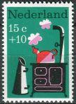 """(1967) MiNr. 888 ** - Nizozemsko - """"Dětem"""": dětské písně"""