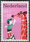 """(1967) MiNr. 890 ** - Nizozemsko - """"Dětem"""": dětské písně"""