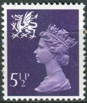 (1971) MiNr. 17 ** - Wales - Královna Alžběta II