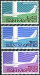(1974) MiNr. 1077 - 1079 ** - San Marino - 50 let sportovního létánív Itálii