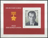(1976) MiNr. 2115 ** - DDR - BLOCK 44  - Dr. Richard Sorge