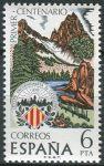 (1976) MiNr. 2200 ** - Španělsko - 100 let turistický klub Katalánska