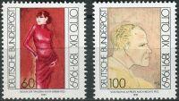 (1991) MiNr. 1572 - 1573 ** - Německo - 100. výročí narození Otto Dix