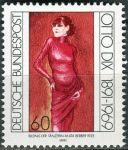 (1991) MiNr. 1572 ** - Německo - 100. výročí narození Otto Dix