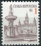(1993) č. 12 ** - ČR - Městská architektura (výplatní známky)