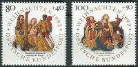 (1993) MiNr. 1707 - 1708 ** - Německo - Vánoce