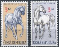 (1996) MiNo. 122-123 ** - Czech Republic - Kladruby horses