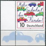 (1997) MiNr. 1954 ** - Německo - Více bezpečí pro děti na cestách!