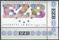 (1998) MiNr. 2000 ** - Německo - Založení Evropské centrální banky ve Frankfurtu nad Mohanem
