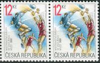 (2001) č. 291 ** - Česká republika - 2-bl - ME ve volejbalu mužů