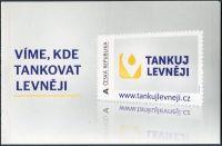 (2013) ZSn 781 - 782 ** - Vlastní známka - vzor Tankuj levněji - desky 1-5