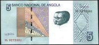 Angola - (P 151a) 5 kwanza (2017) - UNC