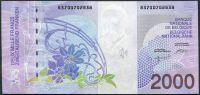 Belgie - (P 151)  2000 Francs (1994-2001) - UNC