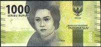 Indonesie - (P 154a) - 1000 RUPIAH (2016) - UNC