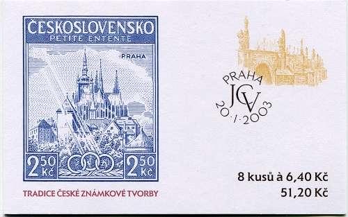 (2003) ZSt 18 - Tradice známkové tvorby - Praha