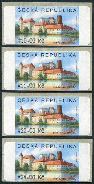 (2006) AU3-2 ** - Jindřichův Hradec 4 ks (10-24,-Kč)
