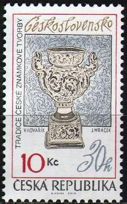 (2010) č. 619 ** - ČR - Tradice české známkové tvorby