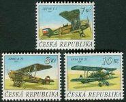 (1996) č. 126-128 ** - ČR - Letadla (série)