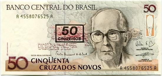 Brazílie - 50 cruzeiros