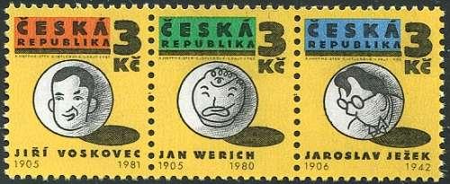 (1995) č. 67-68-69 ** - ČR - 3-pá - Osvobozené divadlo Česká pošta